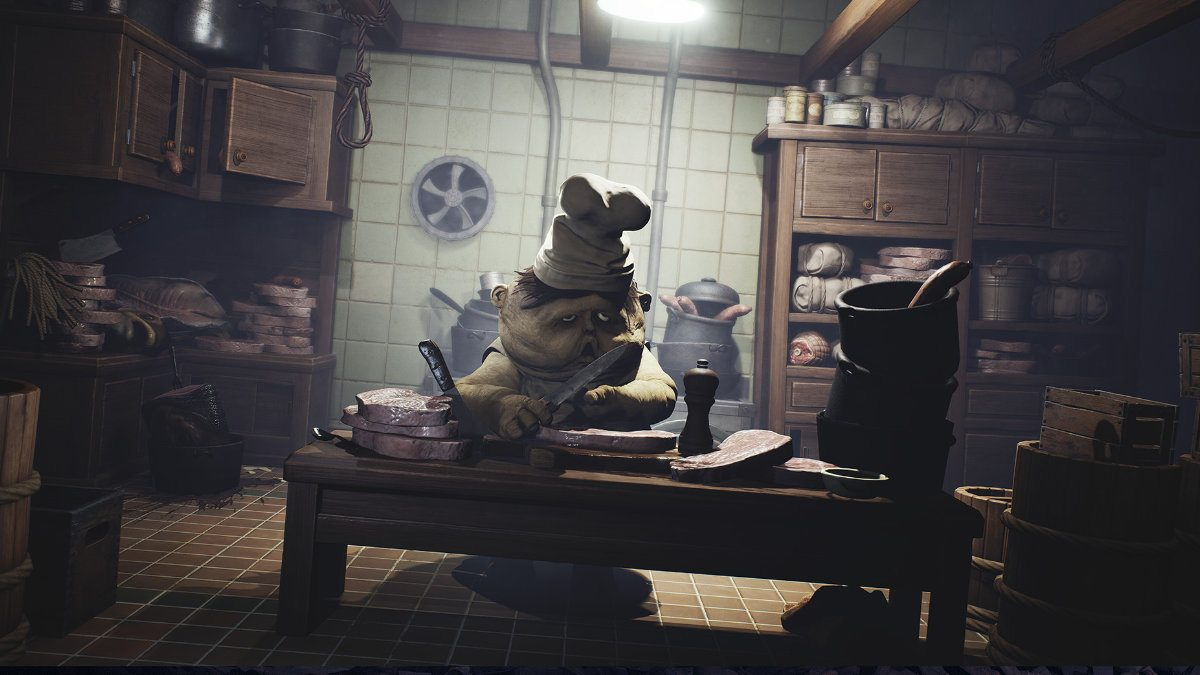 Little Nightmares en la cocina