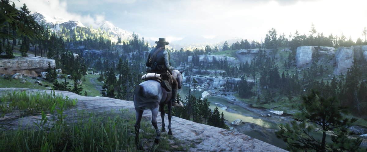Paisaje de Red Dead Redimention