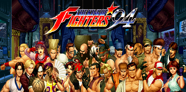 Personajes The King of Fighters 94