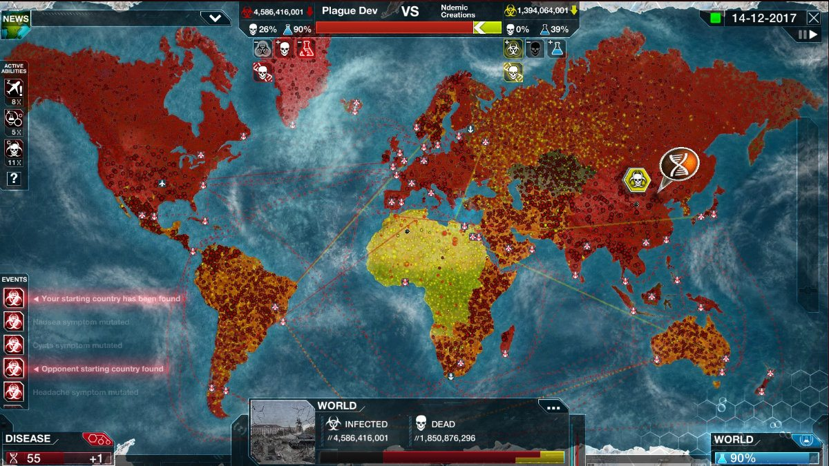 Infectando al mundo Plague Inc