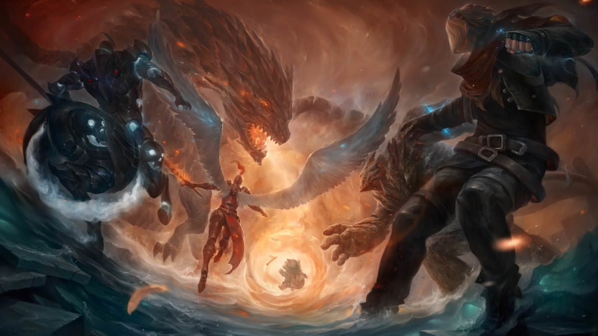Dragon League of Legends