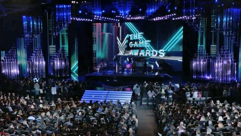 Escenario de The Game Awards