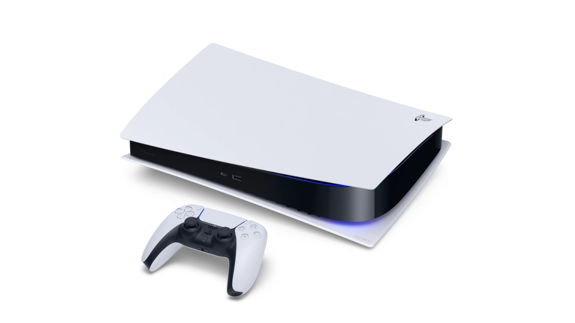 la nueva PlayStation 5 con mando