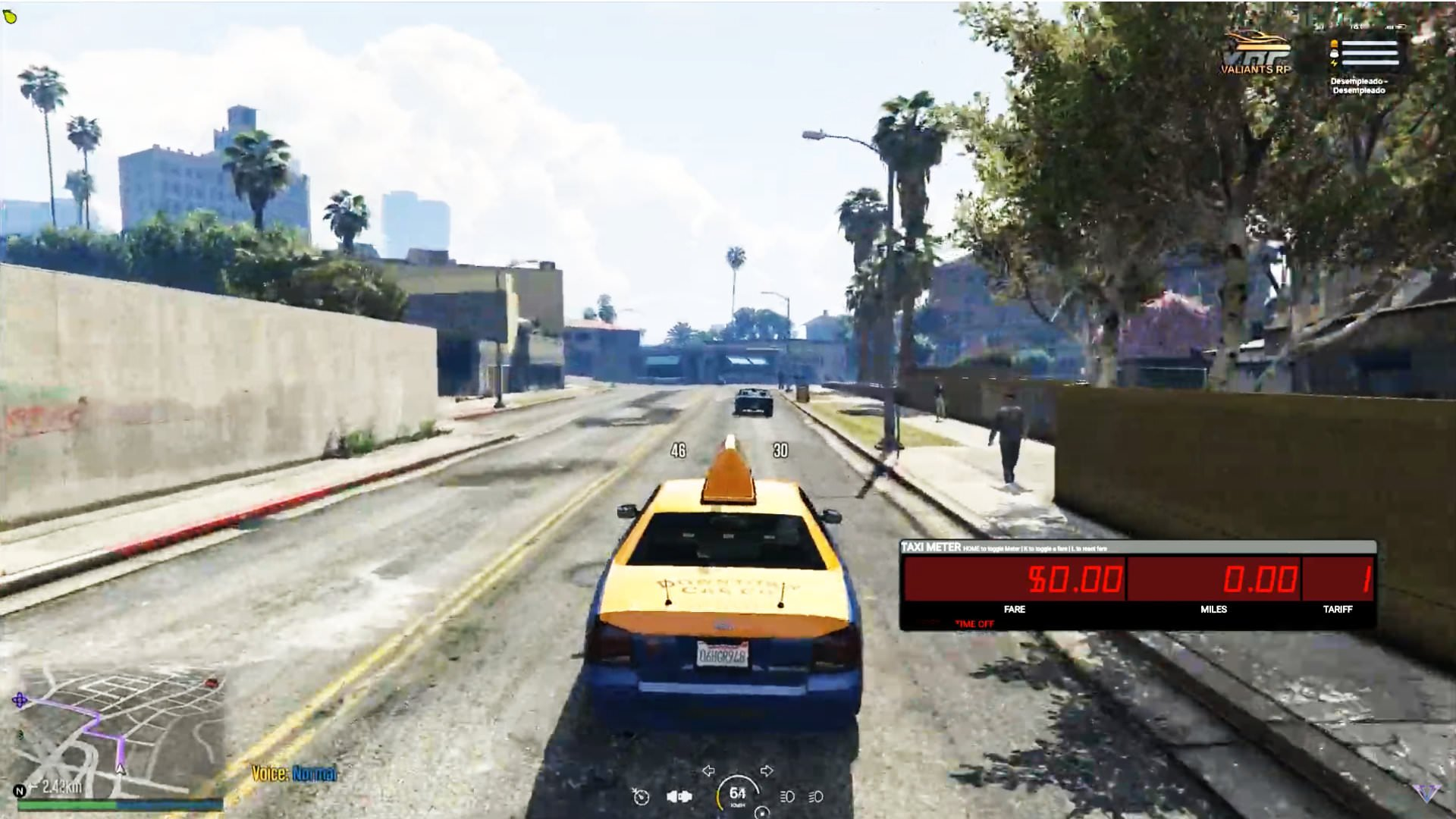 El Taxi - Vegetta777 y Willyrex en roleplay de GTA 5