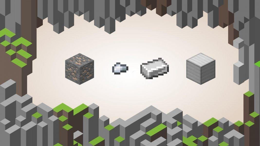 Hierro en Minecraft